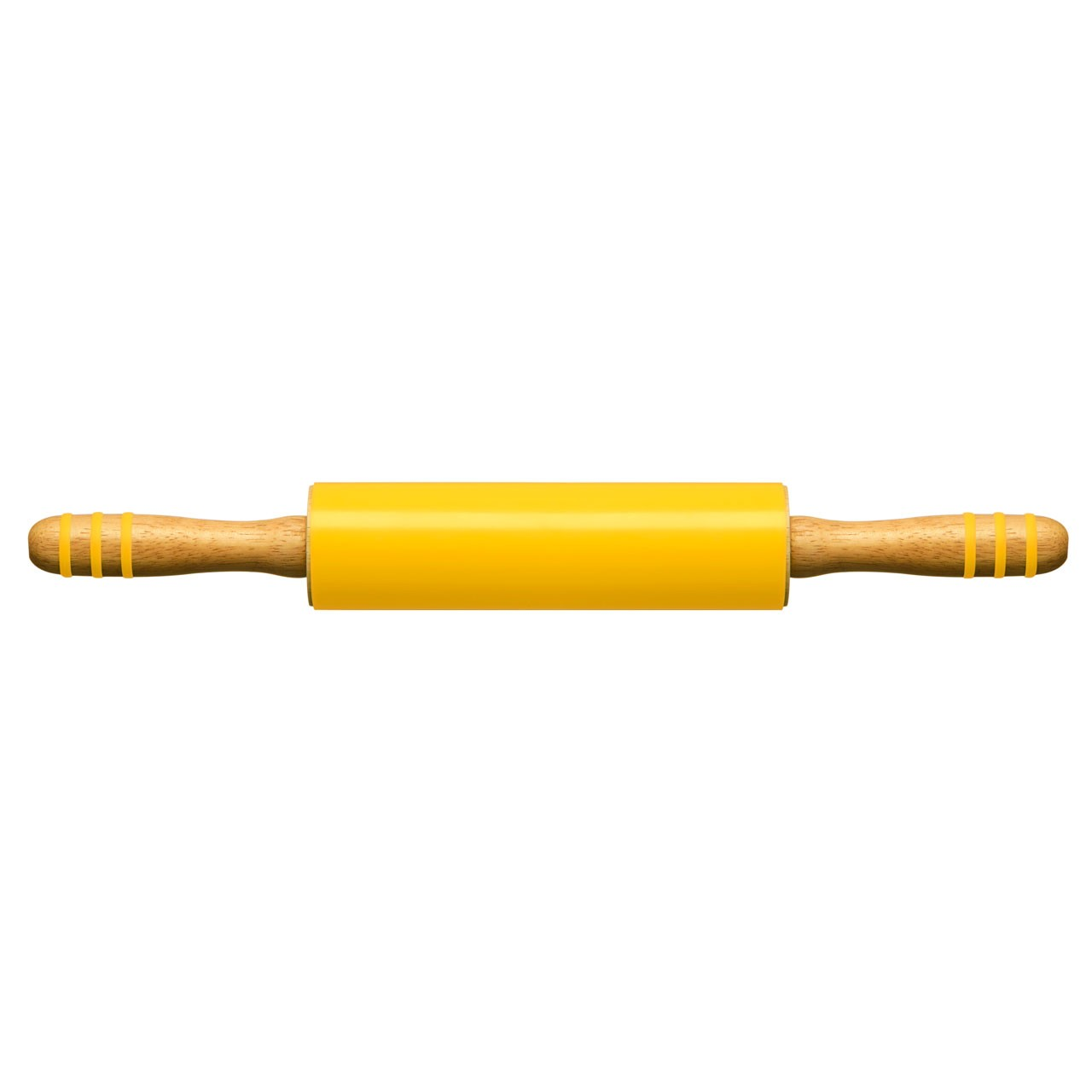 Zing Silicone Rolling Pin - Yellow