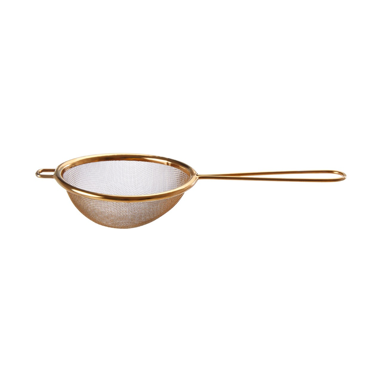 Alchemist Gold Finish Round Sieve