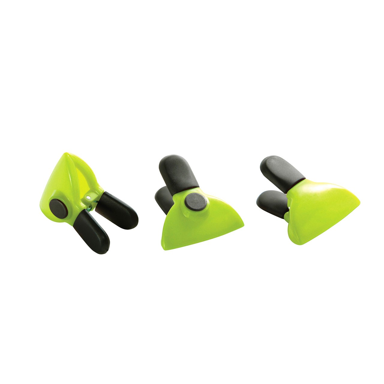 Magnetic Clips - Lime Green - Set of 3