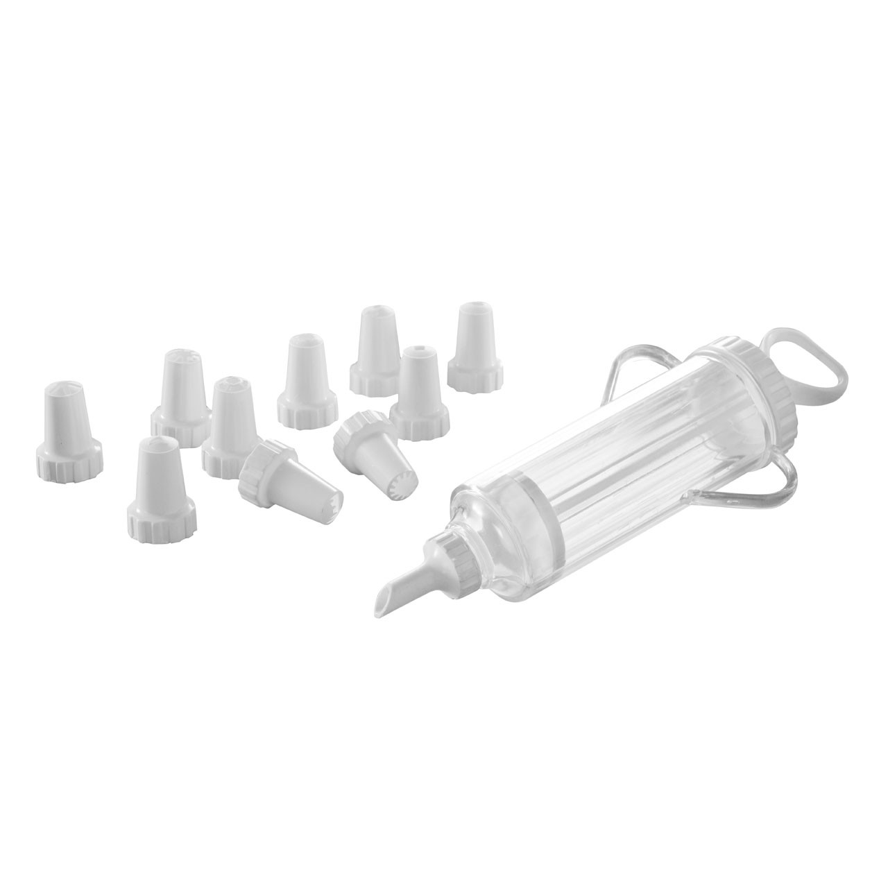 12 piece Cake Decorating Set - White