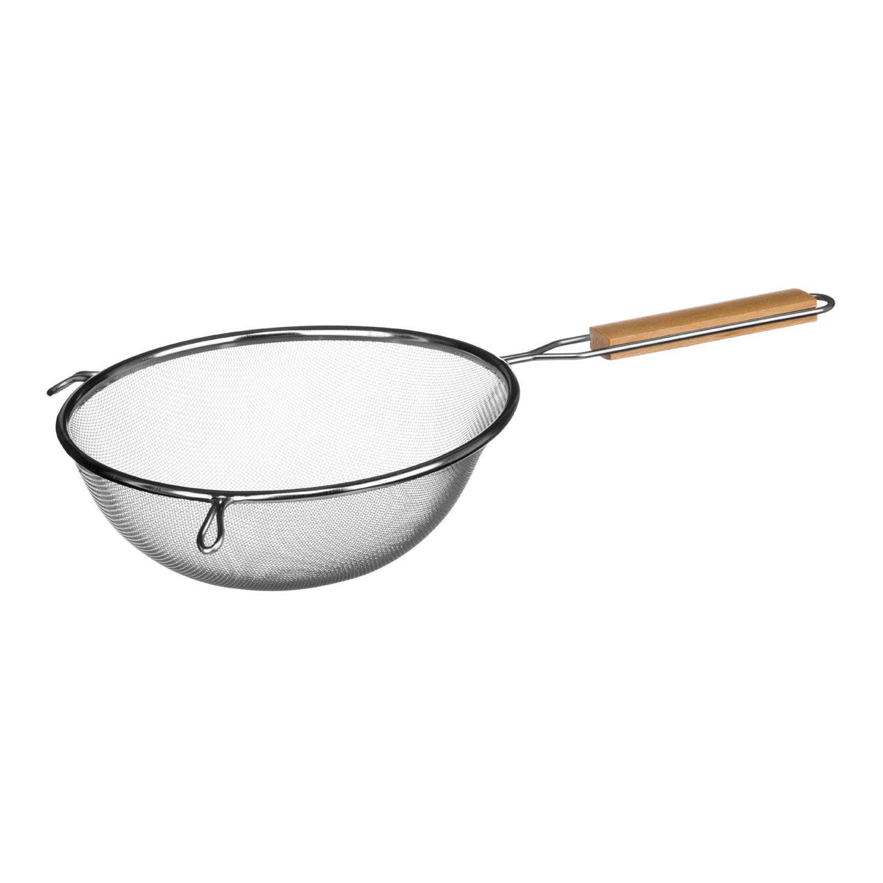 Sieve Stainless Steel/Wooden Handle