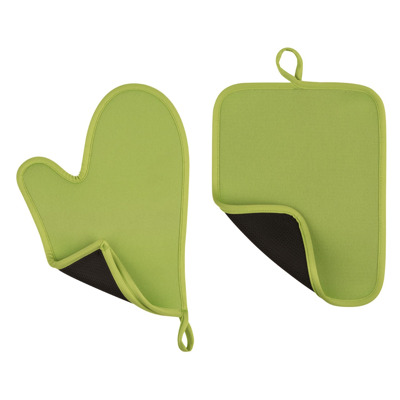 Oven Glove And Pot Holder Set Availabel in 4 Colours Neoprene (L