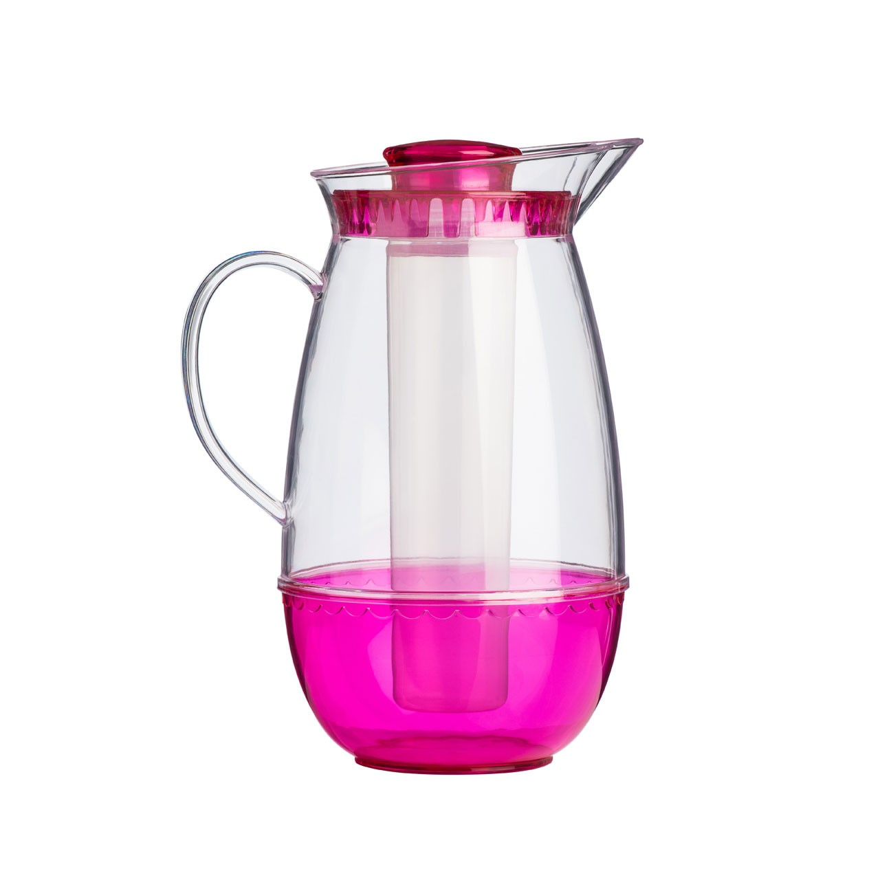 Jug with Ice Chamber - Hot Pink