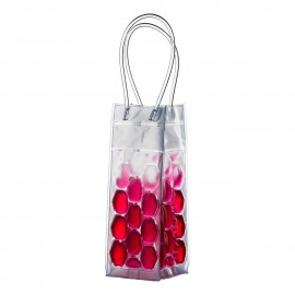 Prime Furnishing Wine Cooler Bag with Handles - Hot Pink