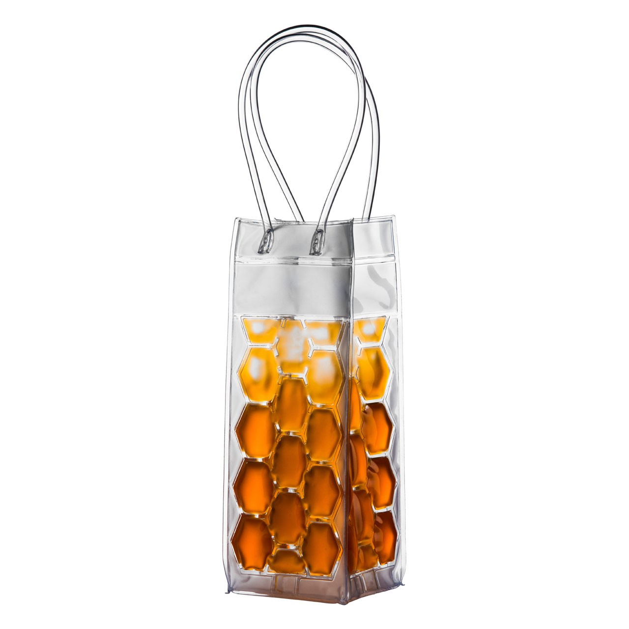 Prime Furnishing Wine Cooler Bag with Handles - Orange