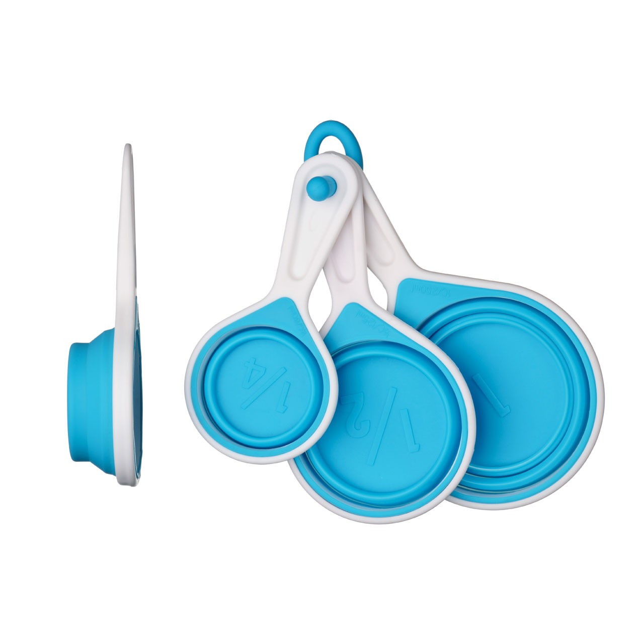 Zing Measuring Cups - Set of 4 - Blue