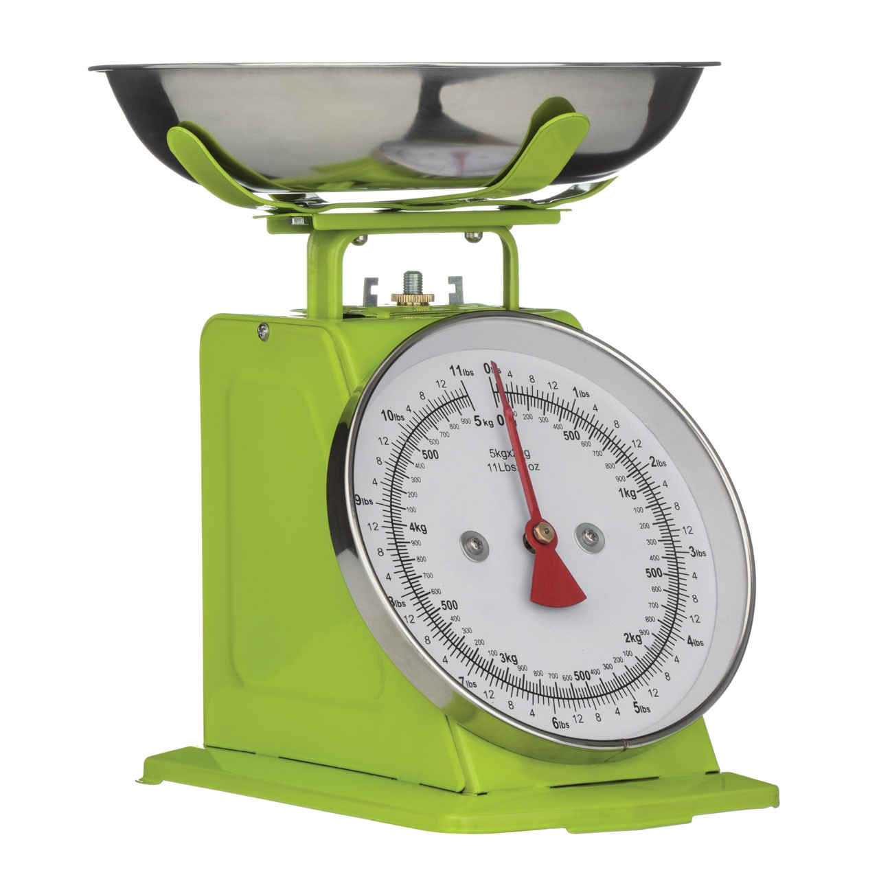 5 kg Retro Kitchen Scale - Lime Green