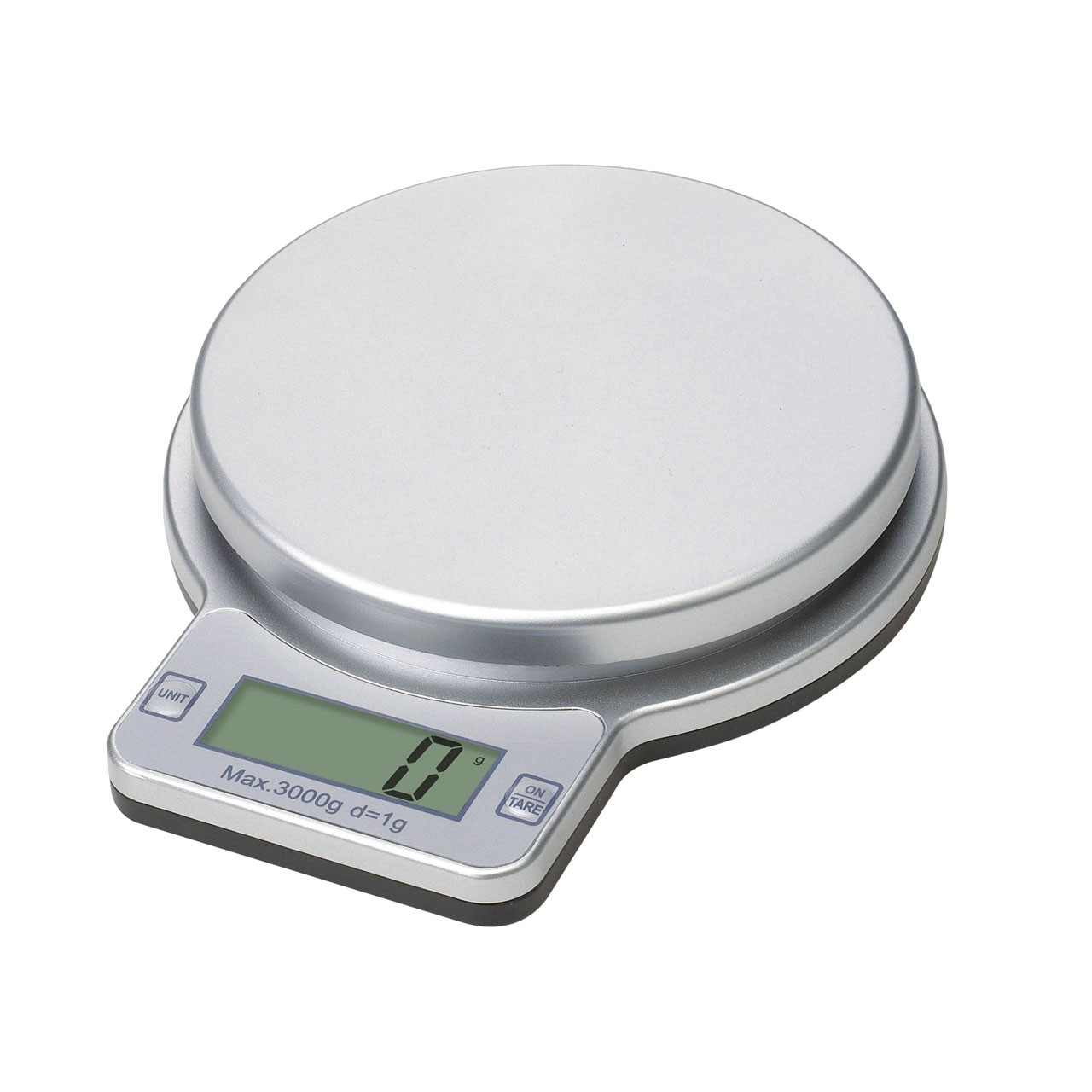 Electronic Kitchen Scale - Silver