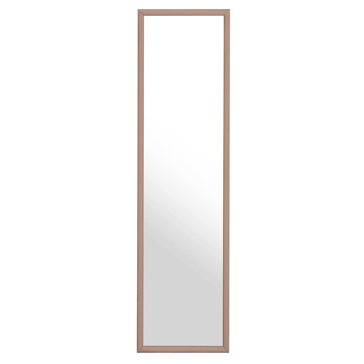 Copper Plastic Frame Over Door Mirror Understated Design