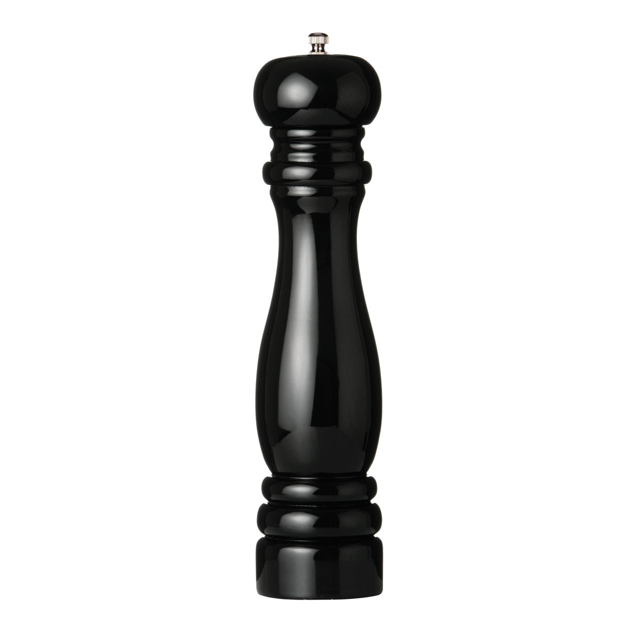Pepper Mill, High Gloss Black