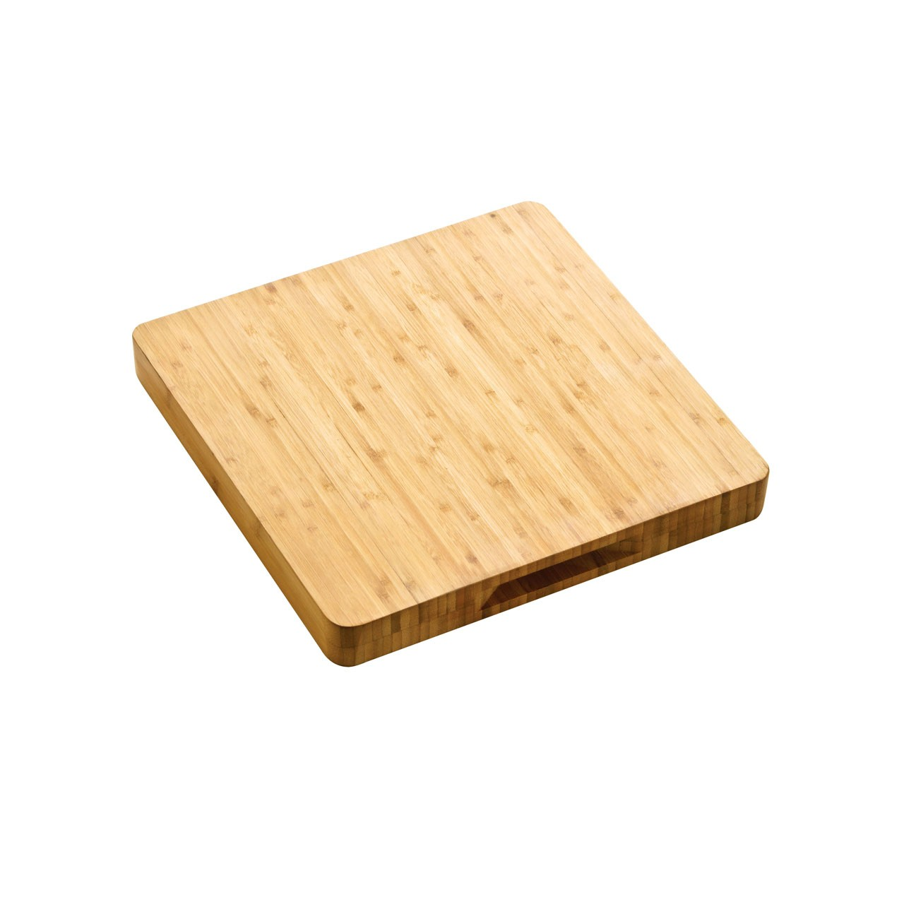 Premier Housewares Butchers Block with Handles - 33 cm - Bamboo