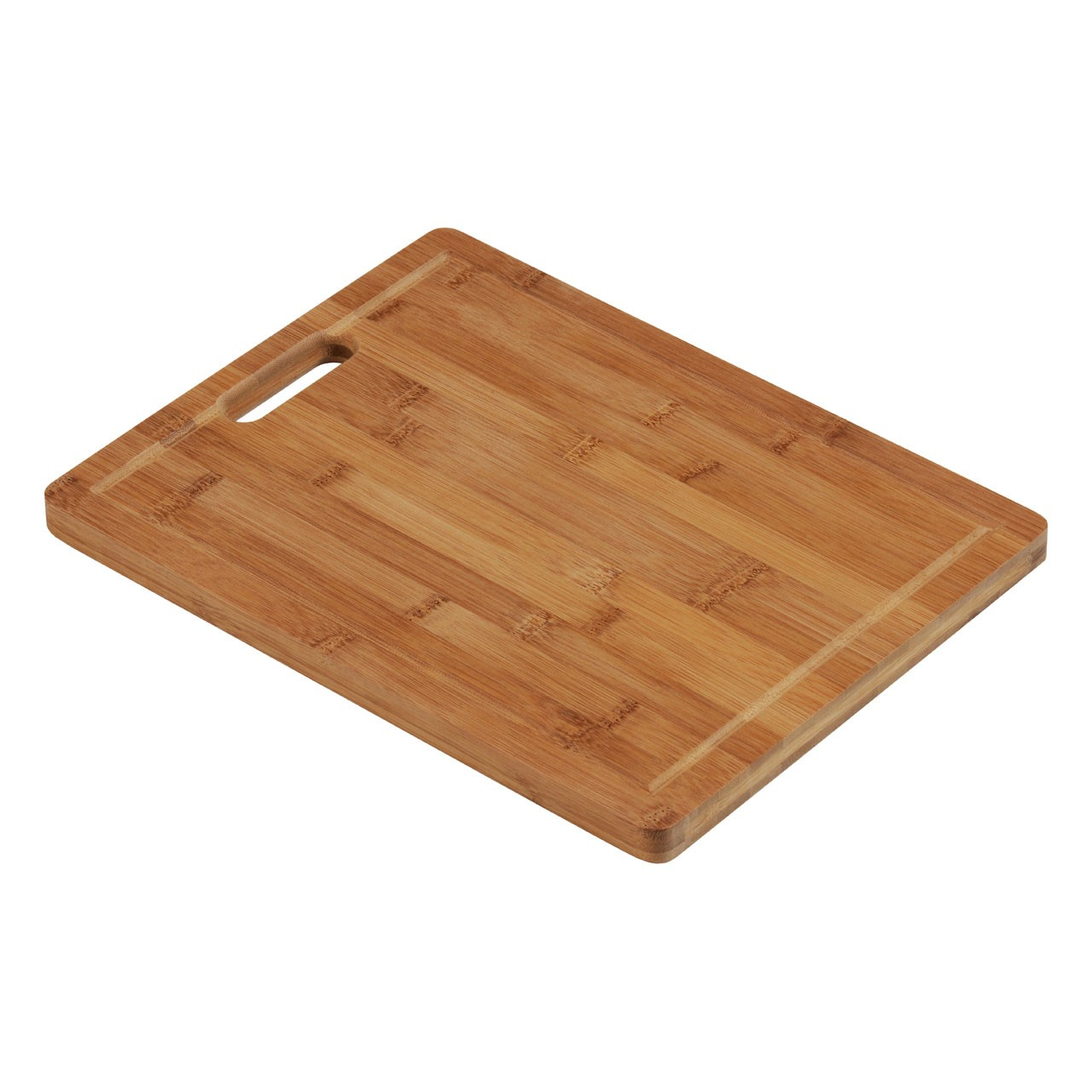 Chopping Board, Bamboo, With Handle - Set Of 2