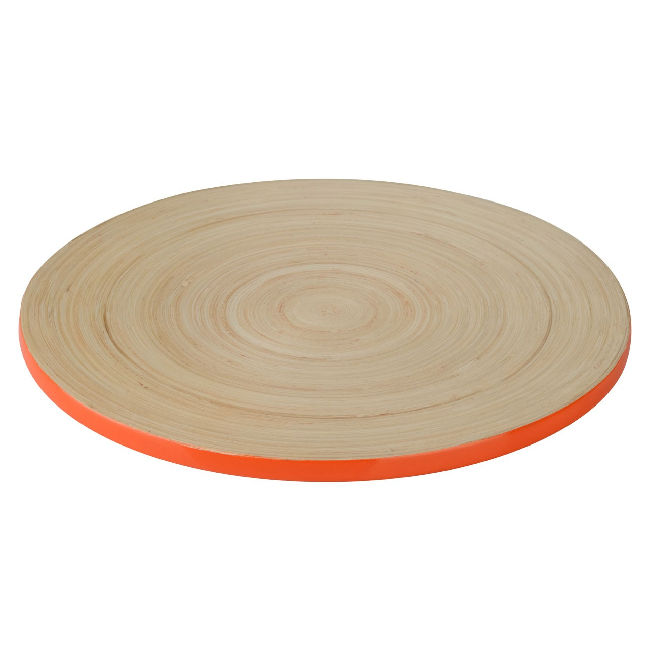 Kyoto Spun Bamboo Placemat - Orange