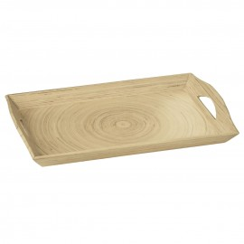 Kyoto Serving Tray, Spun Bamboo