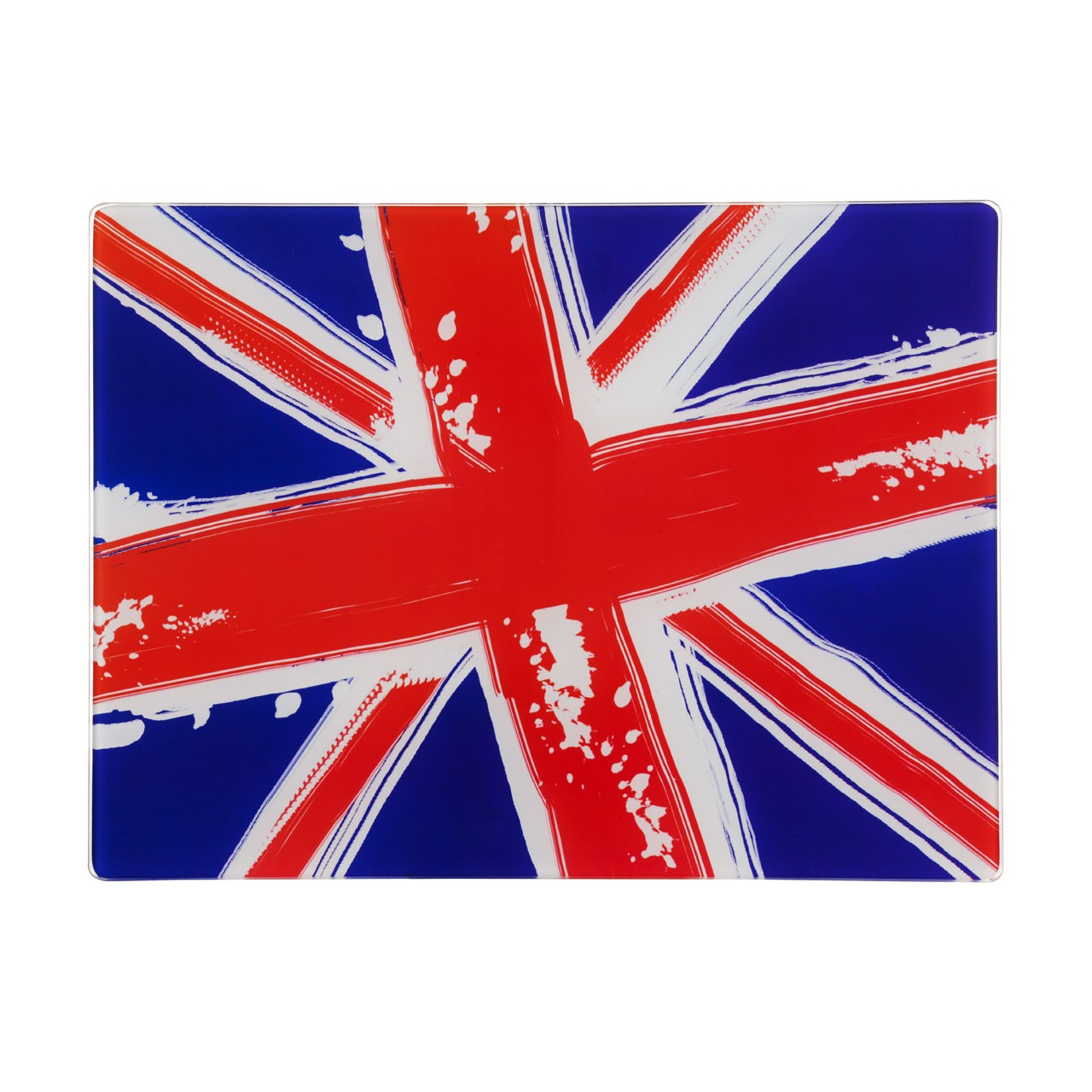 Cool Britannia Glass Chopping Board - Set Of 2