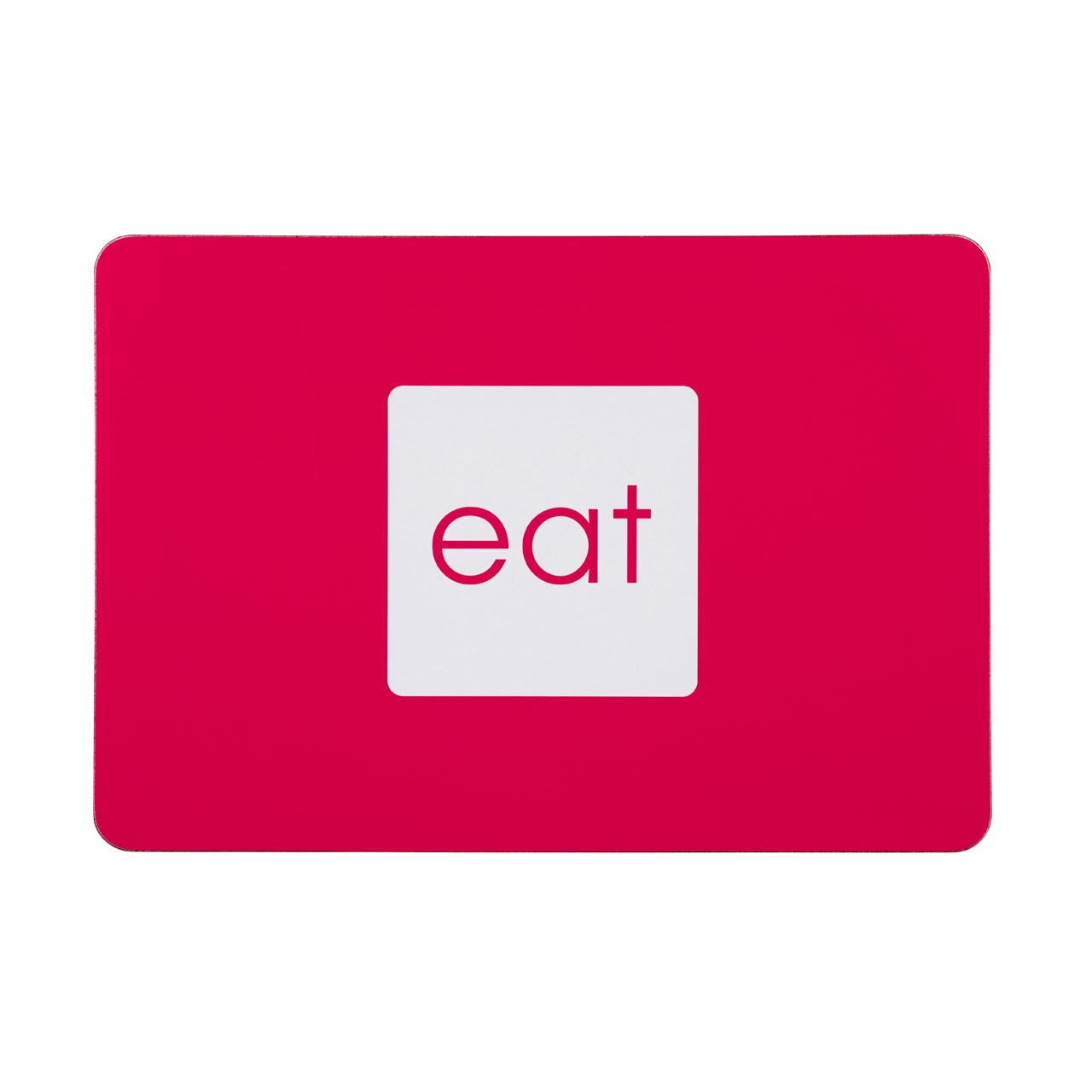 Eat Placemats - Hot Pink, Set of 4