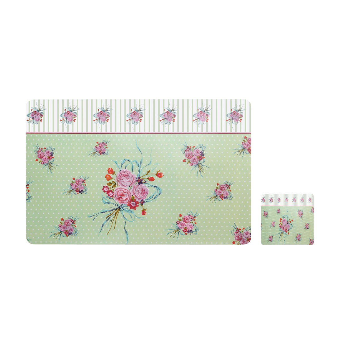 Different designs Set Of 4 Placemats And Coasters Ideal for Gift