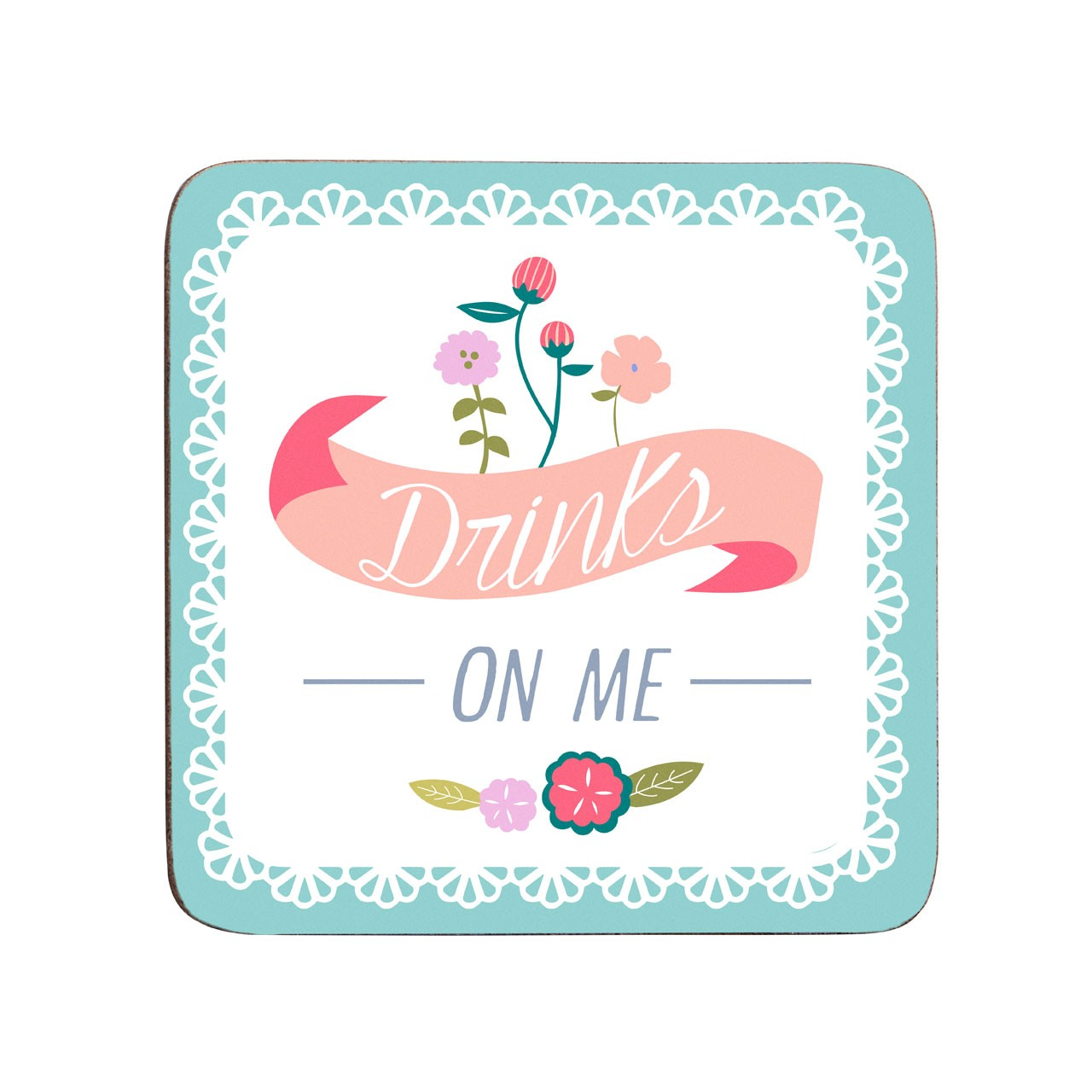 Amelie Set Of 4 Coasters Cork