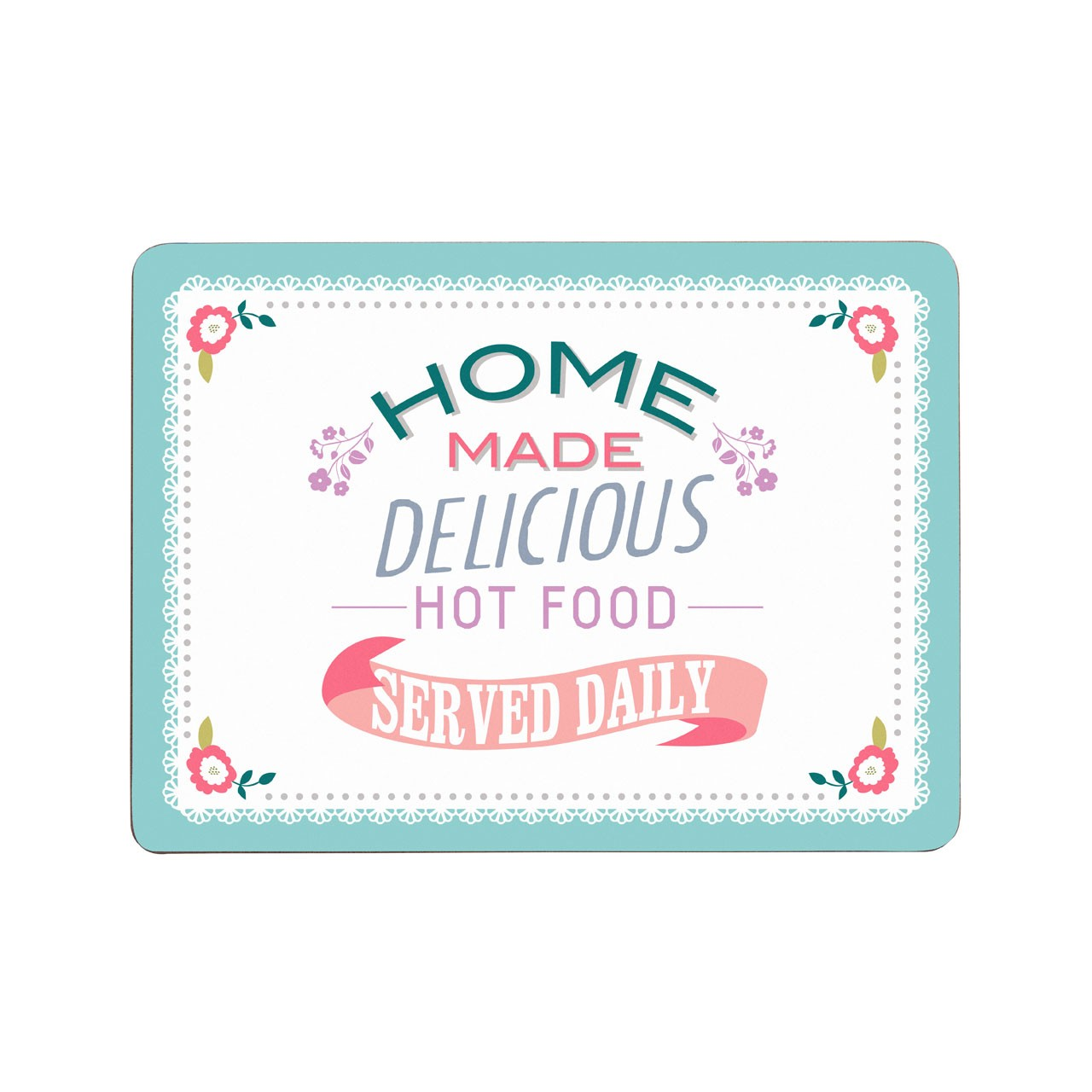 Amelie Set Of 4 Placemats Cork
