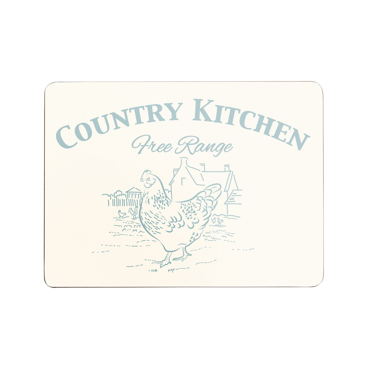 Country Kitchen Placemats, Set of 4