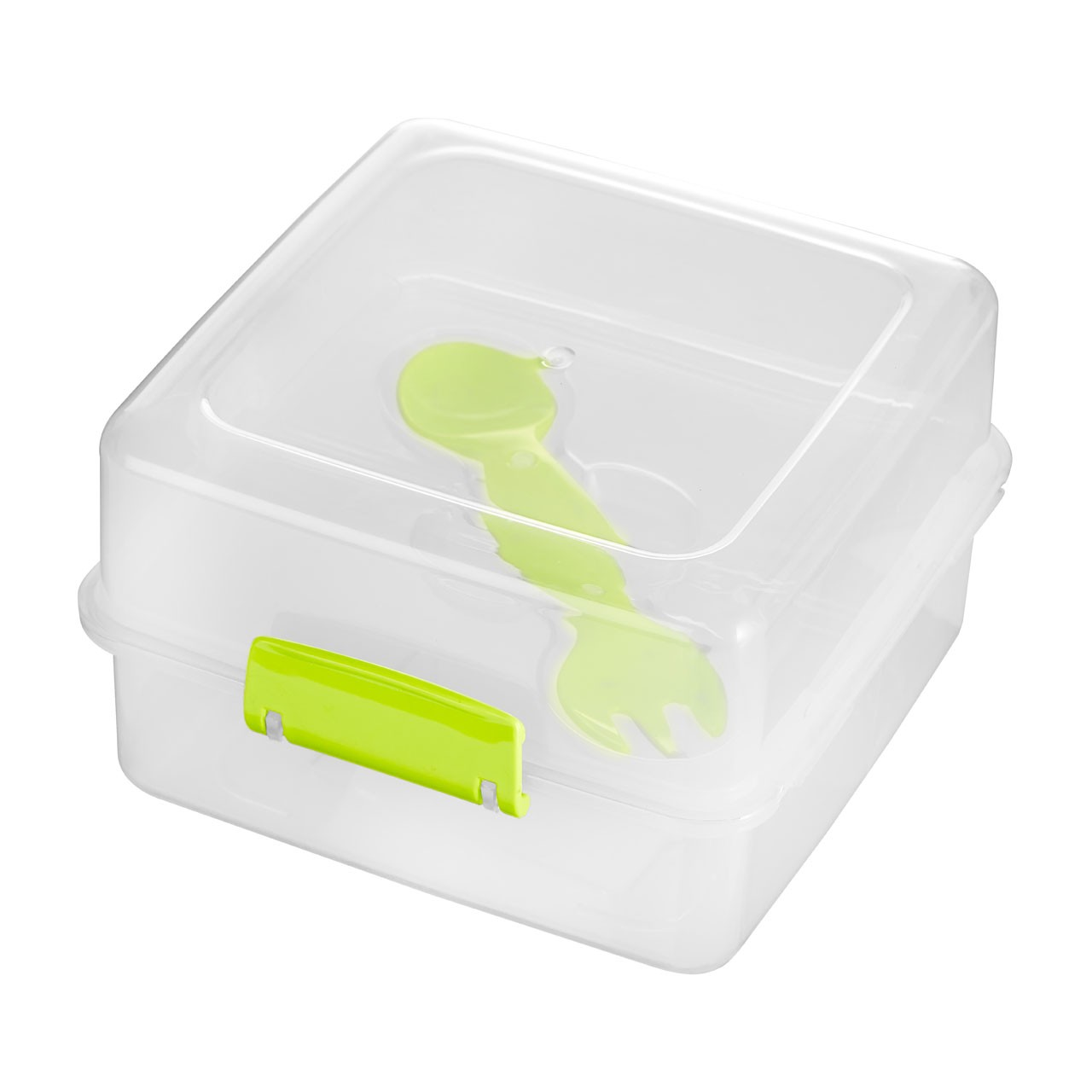 Grub Tub Lunch Box PPRC 2 Compartments / Cutlery