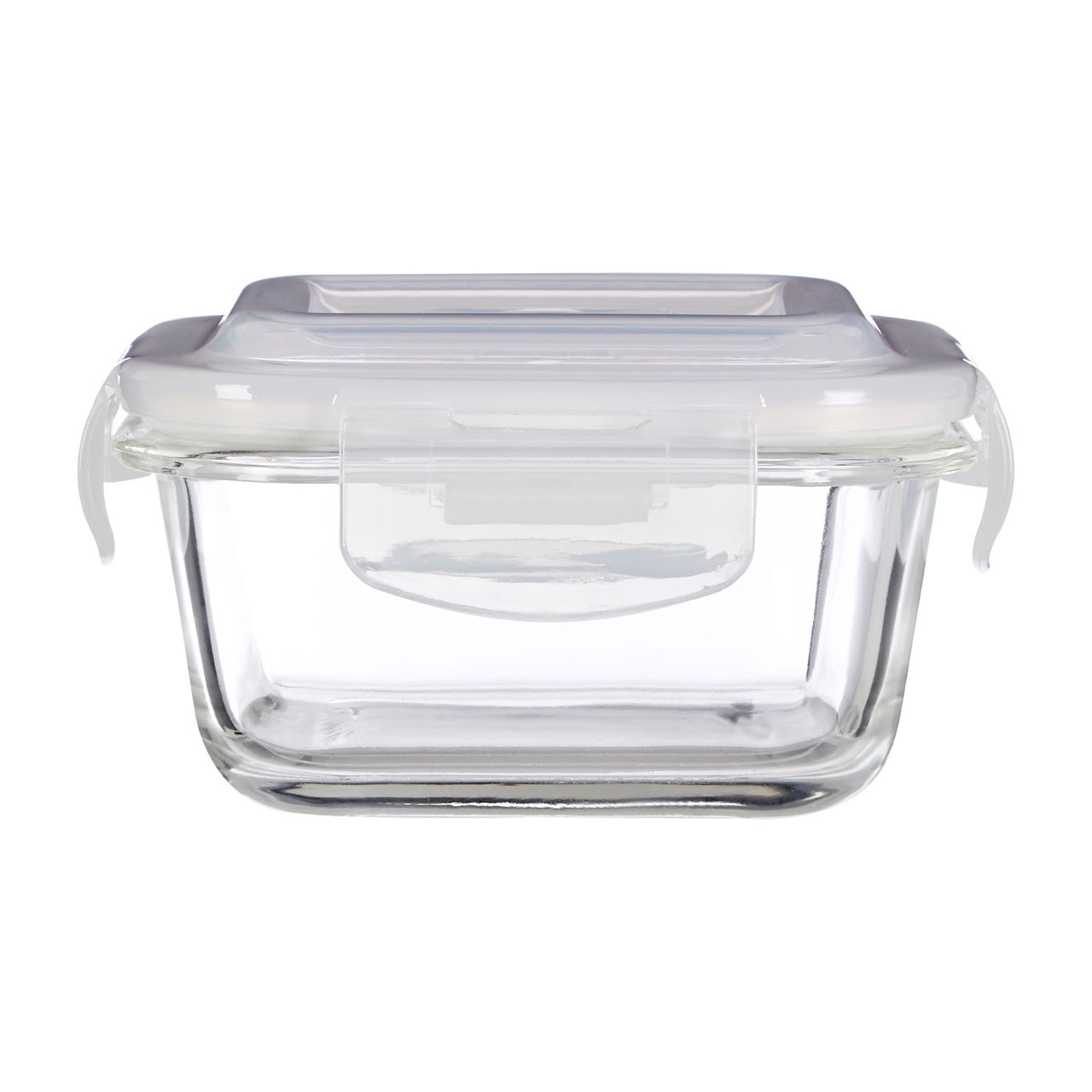 Prime Furnishing Freska Glass Container, Clear, 320 ml