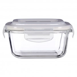 Prime Furnishing Freska Glass Container, Clear, 520 ml