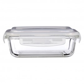 Prime Furnishing Freska Glass Container, Clear, 640 ml
