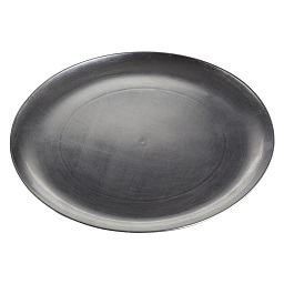 Prime Furnishing Coupe Charger Plate - Silver