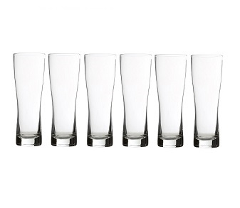 Prime Furnishing Hi Ball Glass, Clear, 540ml - Set Of 6