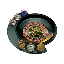 Roulette 6 Glass Lucky Shot Drinking Game