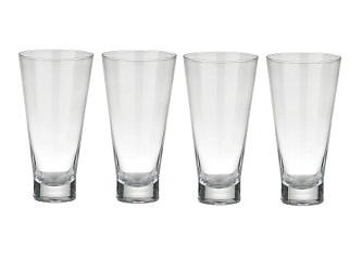 Hi Ball Glass, Clear - Set Of 4