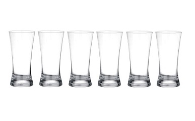 Hi-Ball Glass - Clear Set Of 6