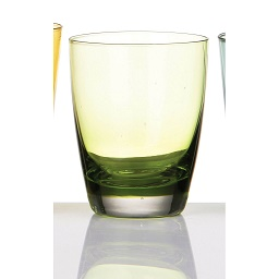 Glass Tumbler - Green