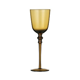 Prime Furnishing Tessa Wine Glasses - Smoke Amber, Set of 4