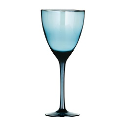 Premier Housewares Wine Glasses - Set of 4 - Blue Lustre [Kitche