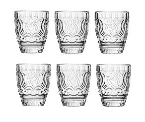 Imperial Tumbler, Clear Glass - Set Of 6