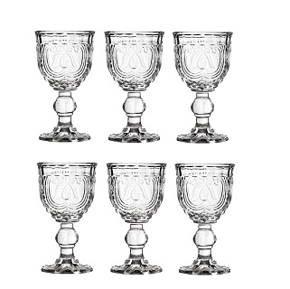 Imperial Wine Glass, Clear - Set Of 6