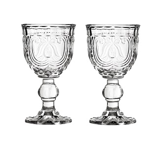 Imperial Wine Glass, Clear - Set Of 2