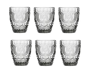 Prime Furnishing Imperial Tumbler, Smoked Glass - Set Of 6