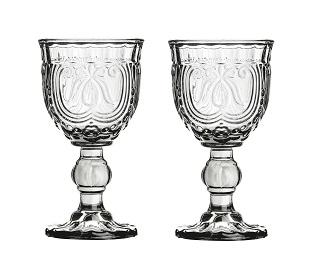 Imperial Wine Glass, Smoked - Set Of 2