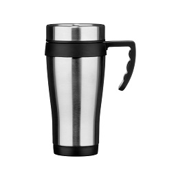 Tasse Travel Mug Made Of Stainless Steel With Plastic Handle