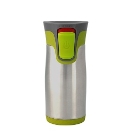 Prime Furnishing Contigo Aria Autoseal Mug, 300ml - Green