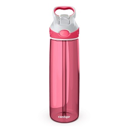 Contigo Addison Autospout Drink Bottle, Watermelon/White, 750ml