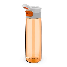 Contigo Grace Autoseal Water Bottle, Tangerine/White, 750ml