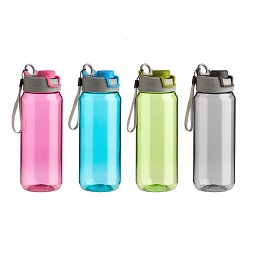 Prime Furnishing 4 Assorted Mimo Water Bottles, 750ml