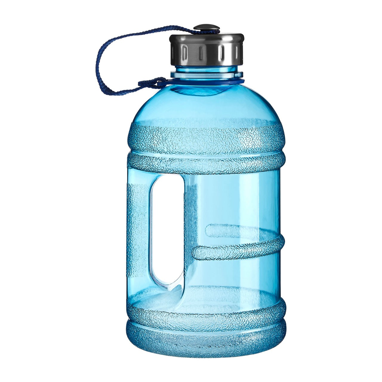 Blue Sports Drinking Bottle 1500ml