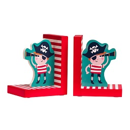 Pirate Set Of 2 Bookends