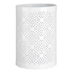 Prime Furnishing Complements Hurricane Large Candle Holder,White