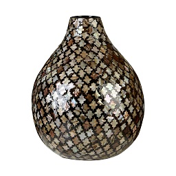Prime Furnishing Complements Bottle Vase, Occo Mosaic